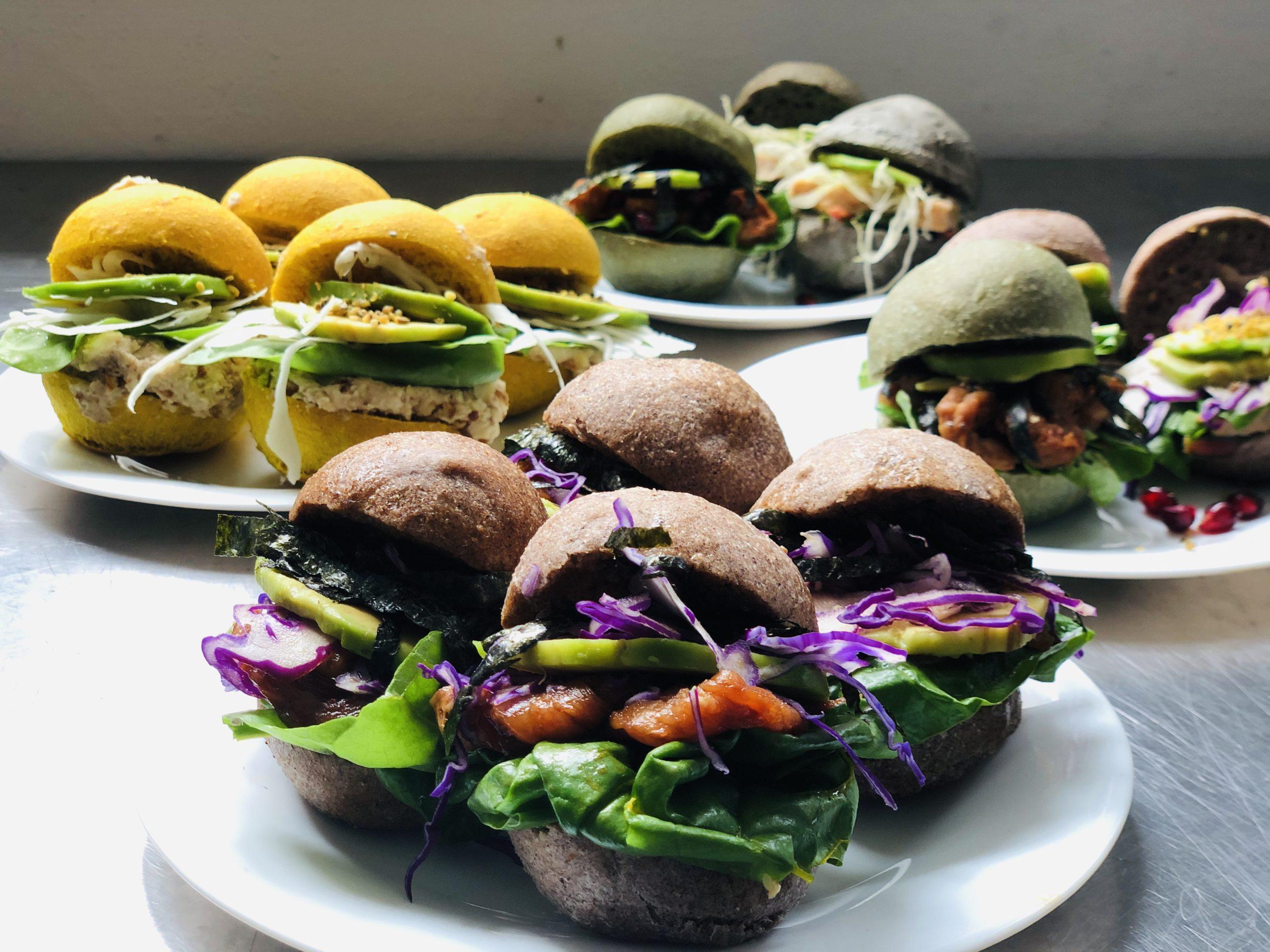 Burger Gourmet Set Spirulina