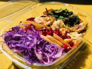 Poke Vegan Healthy food