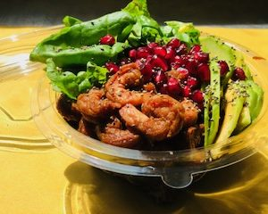 Gamberi healthy salad gourmet