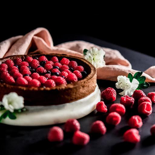 milano linate prime Torta cioccolato lamponi