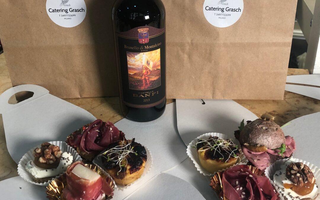 Amuse Bouche aperitivo gourmet e vino abbinato